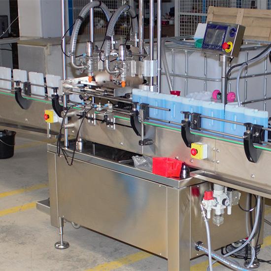 machine de remplissage gels eutectiques